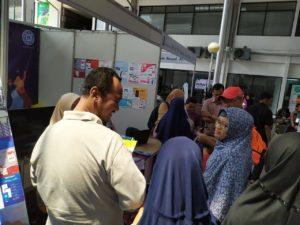 Stand IDN Akhwat Diserbu Pengunjung Pameran ASESI